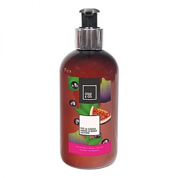 hand and body lotion fig and cassis