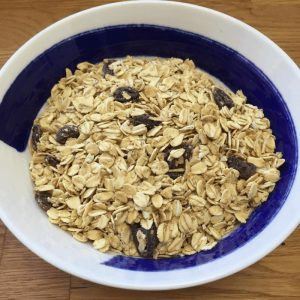 granola no added sugar